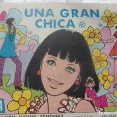 Tebeos: REVISTA JUVENIL FEMENINA AZUCENA NUM 1107- UNA GRAN CHICA. Lote 198069133