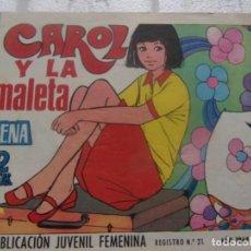 Tebeos: REVISTA JUVENIL FEMENINA AZUCENA NUM 1111 - CAROL Y LA MALETA. Lote 198069403