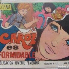 Tebeos: REVISTA JUVENIL FEMENINA AZUCENA NUM 1158 - CAROL ES FORMIDABLE. Lote 198071767