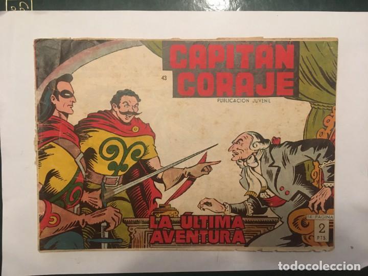 COMIC EL CAPITAN CORAJE Nº 43 EDICIONES TORAY (Tebeos y Comics - Toray - Otros)