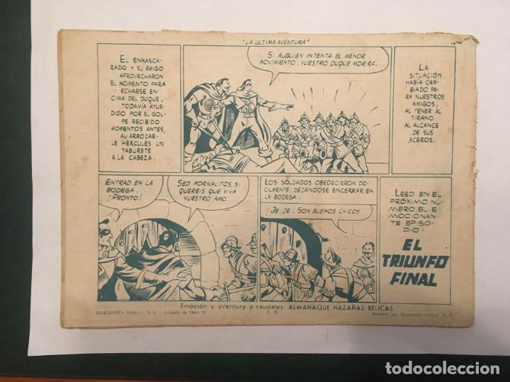 Tebeos: comic el capitan coraje nº 43 ediciones toray - Foto 2 - 198143238