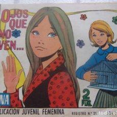Tebeos: REVISTA JUVENIL FEMENINA AZUCENA NUM 1167- OJOS QUE NO VEN .... Lote 198165210