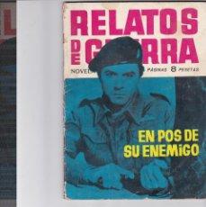 Tebeos: RELATOS DE GUERRA Nº 6. Lote 198471430