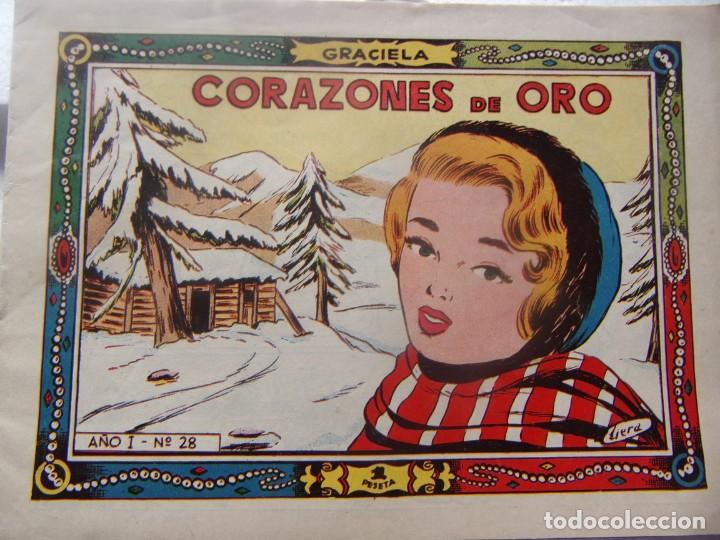 GRACIELA NÚM 28 - CORAZONES DE ORO (Tebeos y Comics - Toray - Graciela)