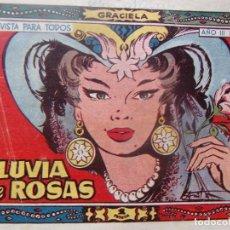 Tebeos: GRACIELA NÚM 87- LLUVIA DE ROSAS. Lote 198577743