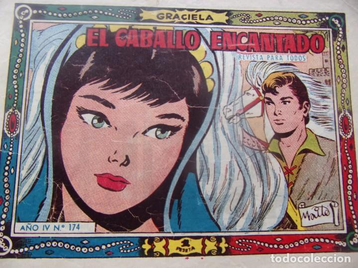 GRACIELA NÚM 174- EL CABALLO ENCANTADO (Tebeos y Comics - Toray - Graciela)
