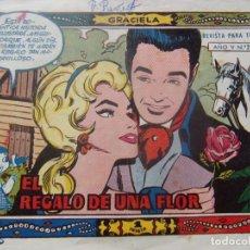 Tebeos: GRACIELA NÚM 235- EL REGALO DE UNA FLOR. Lote 198578465