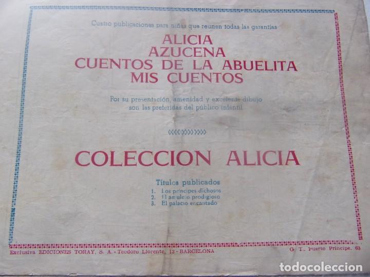 Tebeos: ALICIA Núm. 3 - EL PALACIO ENCANTADO - Foto 2 - 198578628