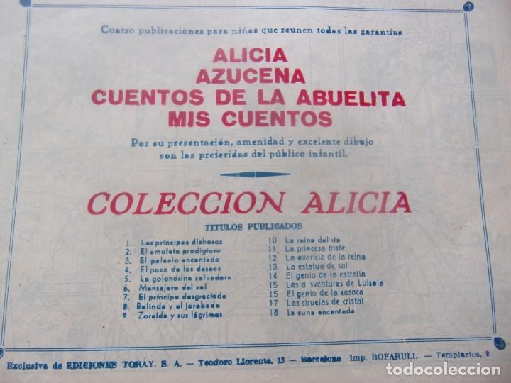 Tebeos: ALICIA Núm. 18 - LA CUNA ENCANTADA - Foto 2 - 198578913