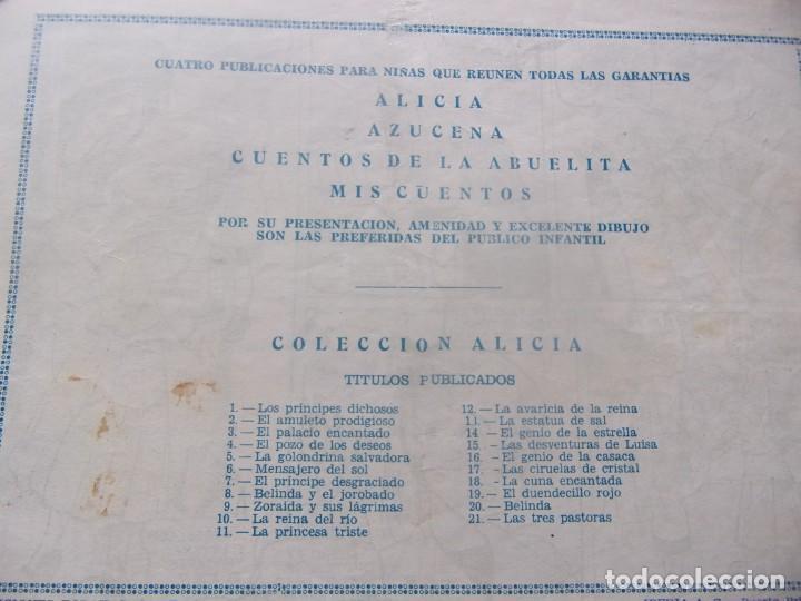 Tebeos: ALICIA Núm. 21- LAS TRES PASTORAS - Foto 2 - 198579010