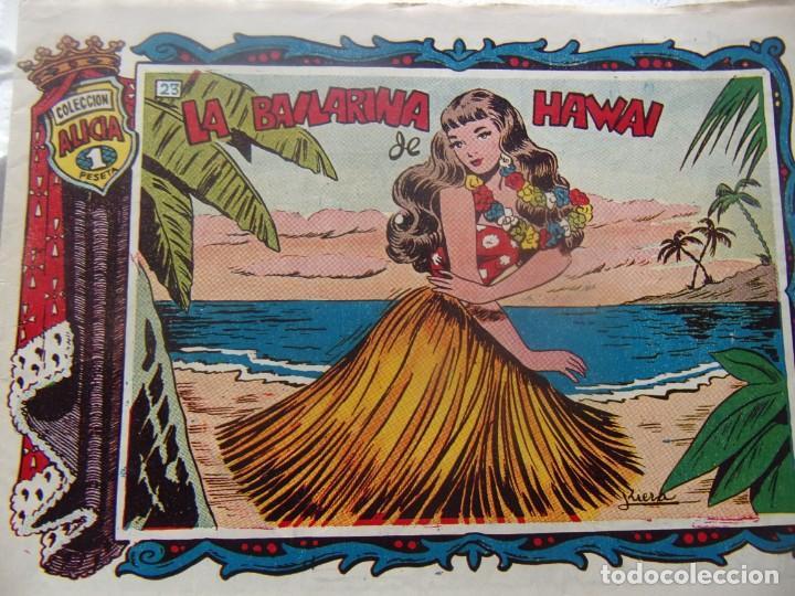 ALICIA NÚM. 23- LA BAILARINA DE HAWAI (Tebeos y Comics - Toray - Alicia)