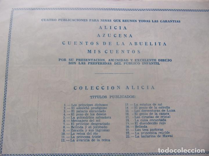 Tebeos: ALICIA Núm. 23- LA BAILARINA DE HAWAI - Foto 2 - 198579111