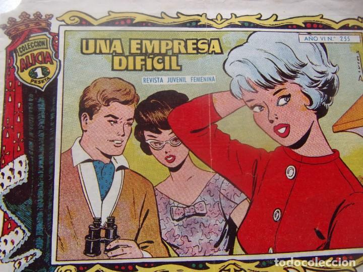 ALICIA NÚM. 255- UNA EMPRESA DIFÍCIL (Tebeos y Comics - Toray - Alicia)