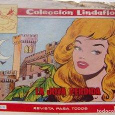 Tebeos: COLECCION LINDAFLOR NÚM. 167- LA JOYA PERDIDA. Lote 198662383