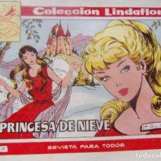Tebeos: COLECCION LINDAFLOR NÚM. 171- LA PRINCESA DE NIEVE. Lote 198662623