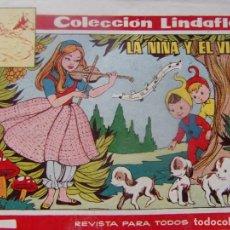 Tebeos: COLECCION LINDAFLOR NÚM. 141- LA NIÑA Y EL VIOLÍN. Lote 198662733