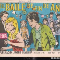 Tebeos: AZUCENA Nº 1135. EL BAILE DE FIN DE AÑO. Lote 198717415