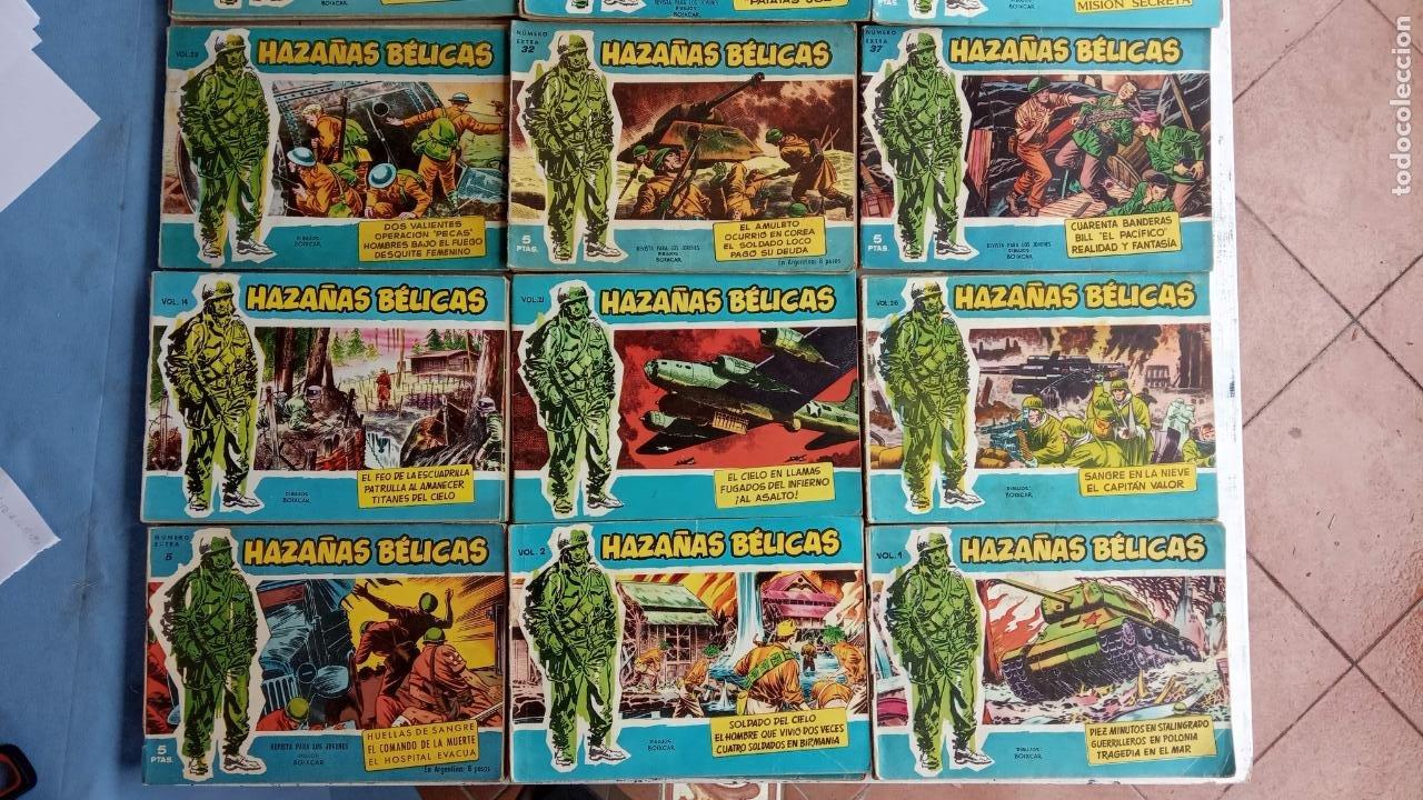 Tebeos: HAZAÑAS BÉLICAS AZUL - 135 TEBEOS EN BUEN-MUY BUEN ESTADO, VER TODAS LAS PORTADAS - Foto 7 - 198812892
