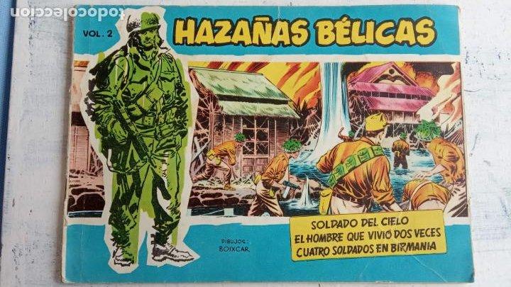 Tebeos: HAZAÑAS BÉLICAS AZUL - 135 TEBEOS EN BUEN-MUY BUEN ESTADO, VER TODAS LAS PORTADAS - Foto 11 - 198812892