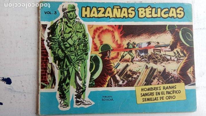 Tebeos: HAZAÑAS BÉLICAS AZUL - 135 TEBEOS EN BUEN-MUY BUEN ESTADO, VER TODAS LAS PORTADAS - Foto 12 - 198812892