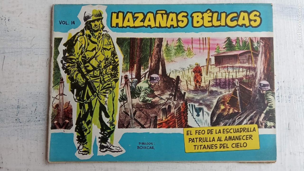 Tebeos: HAZAÑAS BÉLICAS AZUL - 135 TEBEOS EN BUEN-MUY BUEN ESTADO, VER TODAS LAS PORTADAS - Foto 19 - 198812892