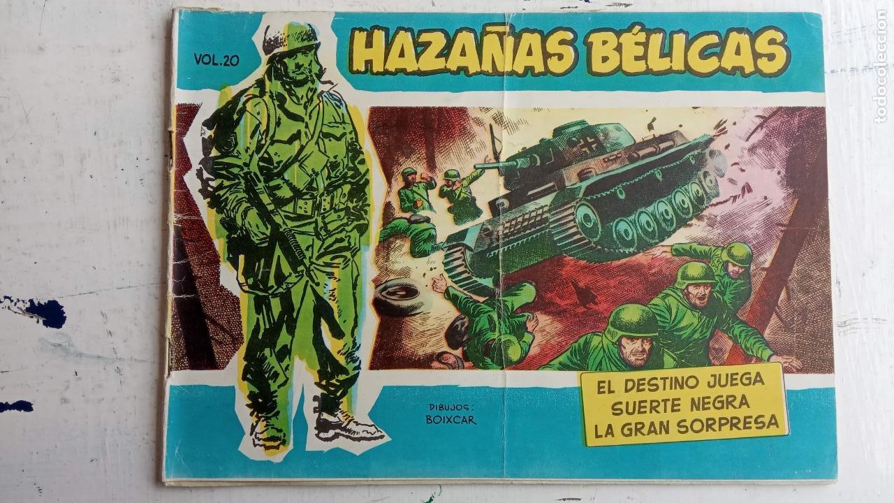 Tebeos: HAZAÑAS BÉLICAS AZUL - 135 TEBEOS EN BUEN-MUY BUEN ESTADO, VER TODAS LAS PORTADAS - Foto 21 - 198812892
