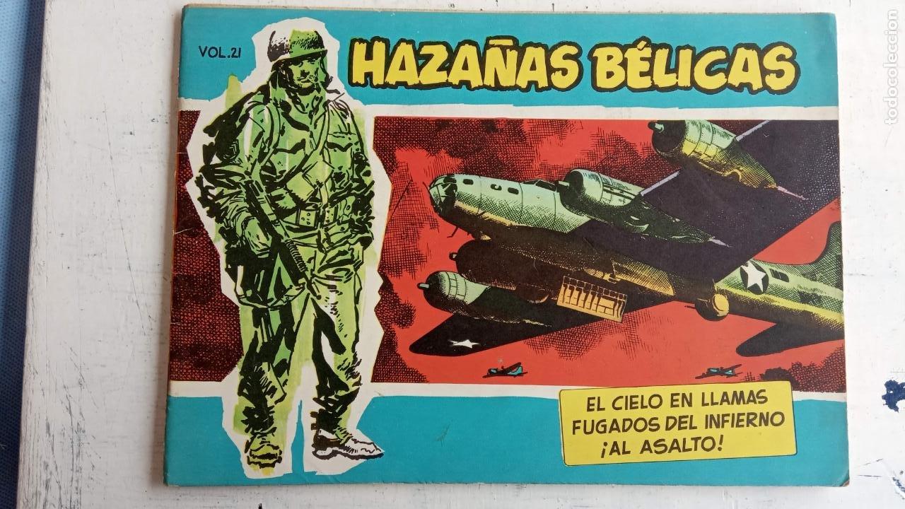 Tebeos: HAZAÑAS BÉLICAS AZUL - 135 TEBEOS EN BUEN-MUY BUEN ESTADO, VER TODAS LAS PORTADAS - Foto 22 - 198812892