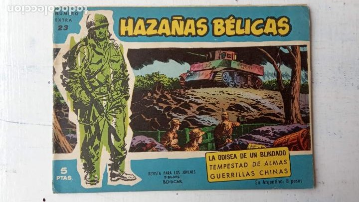 Tebeos: HAZAÑAS BÉLICAS AZUL - 135 TEBEOS EN BUEN-MUY BUEN ESTADO, VER TODAS LAS PORTADAS - Foto 23 - 198812892