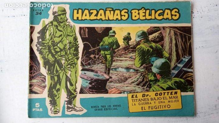 Tebeos: HAZAÑAS BÉLICAS AZUL - 135 TEBEOS EN BUEN-MUY BUEN ESTADO, VER TODAS LAS PORTADAS - Foto 32 - 198812892