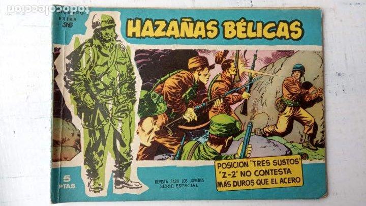 Tebeos: HAZAÑAS BÉLICAS AZUL - 135 TEBEOS EN BUEN-MUY BUEN ESTADO, VER TODAS LAS PORTADAS - Foto 33 - 198812892