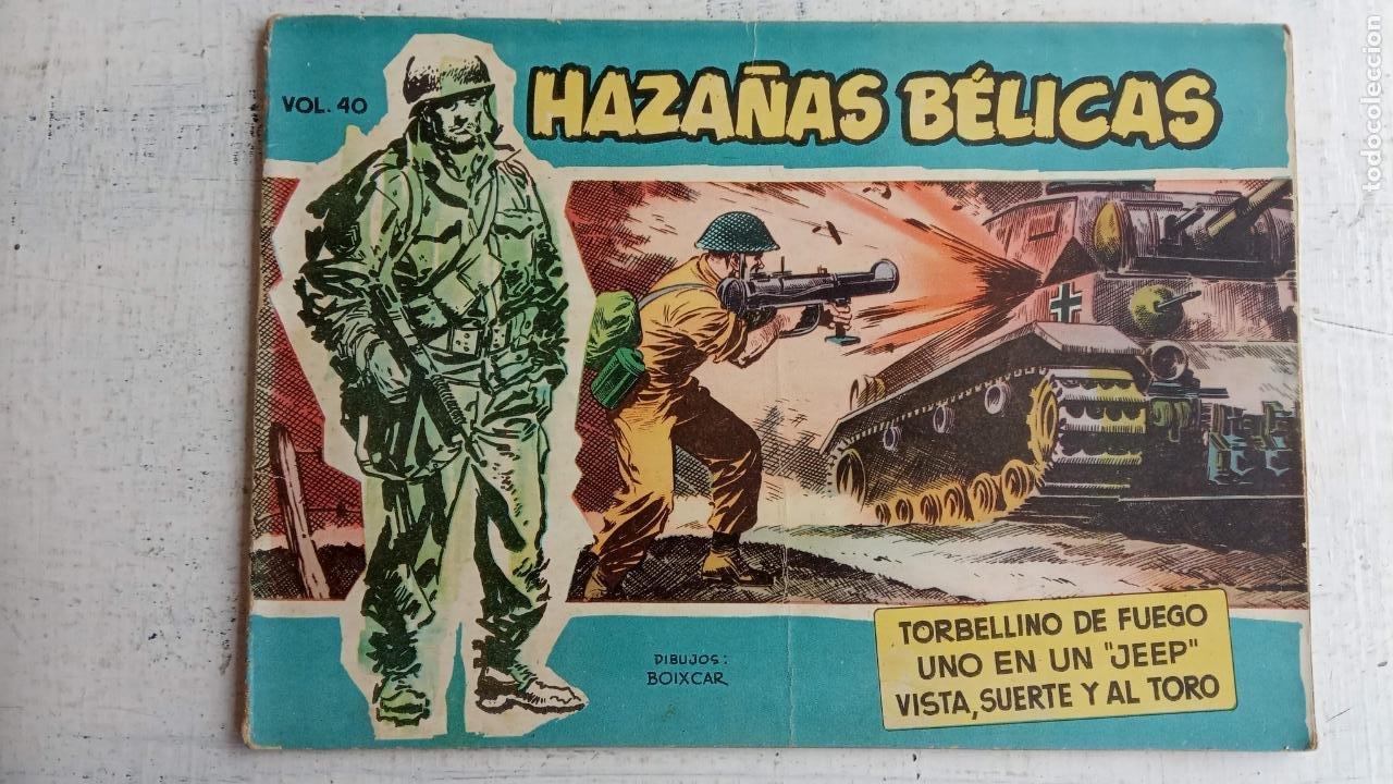 Tebeos: HAZAÑAS BÉLICAS AZUL - 135 TEBEOS EN BUEN-MUY BUEN ESTADO, VER TODAS LAS PORTADAS - Foto 36 - 198812892