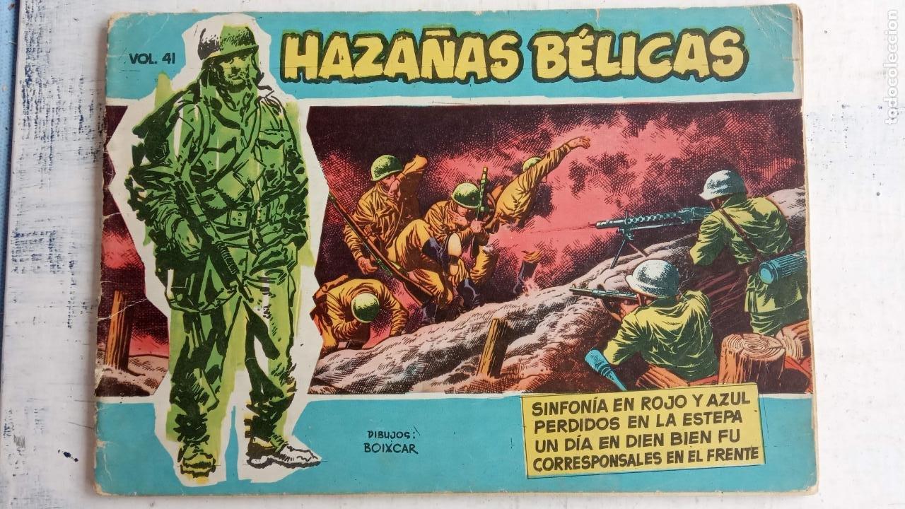 Tebeos: HAZAÑAS BÉLICAS AZUL - 135 TEBEOS EN BUEN-MUY BUEN ESTADO, VER TODAS LAS PORTADAS - Foto 37 - 198812892