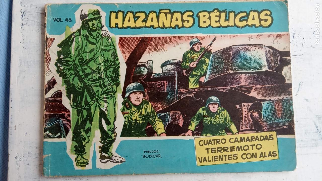 Tebeos: HAZAÑAS BÉLICAS AZUL - 135 TEBEOS EN BUEN-MUY BUEN ESTADO, VER TODAS LAS PORTADAS - Foto 39 - 198812892