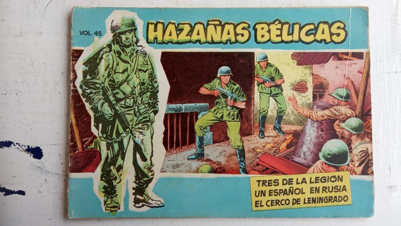 Tebeos: HAZAÑAS BÉLICAS AZUL - 135 TEBEOS EN BUEN-MUY BUEN ESTADO, VER TODAS LAS PORTADAS - Foto 40 - 198812892