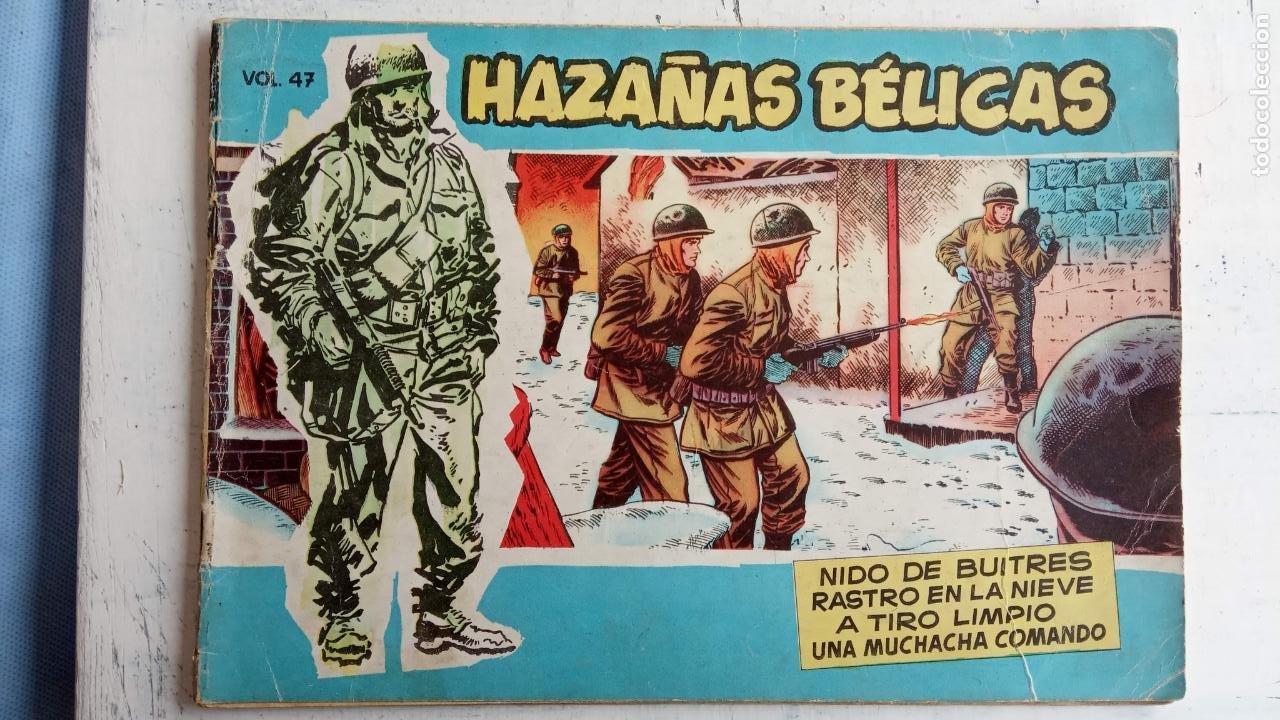 Tebeos: HAZAÑAS BÉLICAS AZUL - 135 TEBEOS EN BUEN-MUY BUEN ESTADO, VER TODAS LAS PORTADAS - Foto 41 - 198812892