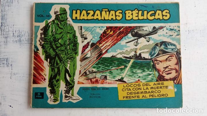 Tebeos: HAZAÑAS BÉLICAS AZUL - 135 TEBEOS EN BUEN-MUY BUEN ESTADO, VER TODAS LAS PORTADAS - Foto 47 - 198812892