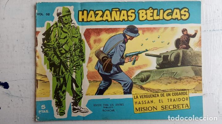 Tebeos: HAZAÑAS BÉLICAS AZUL - 135 TEBEOS EN BUEN-MUY BUEN ESTADO, VER TODAS LAS PORTADAS - Foto 50 - 198812892