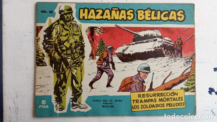 Tebeos: HAZAÑAS BÉLICAS AZUL - 135 TEBEOS EN BUEN-MUY BUEN ESTADO, VER TODAS LAS PORTADAS - Foto 51 - 198812892