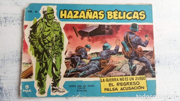Tebeos: HAZAÑAS BÉLICAS AZUL - 135 TEBEOS EN BUEN-MUY BUEN ESTADO, VER TODAS LAS PORTADAS - Foto 52 - 198812892