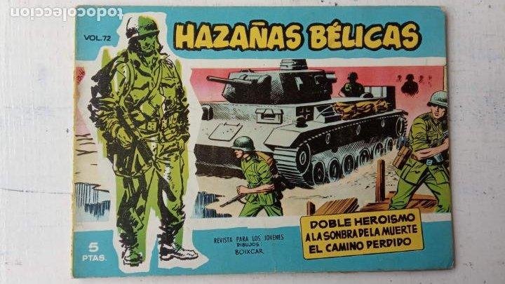 Tebeos: HAZAÑAS BÉLICAS AZUL - 135 TEBEOS EN BUEN-MUY BUEN ESTADO, VER TODAS LAS PORTADAS - Foto 54 - 198812892