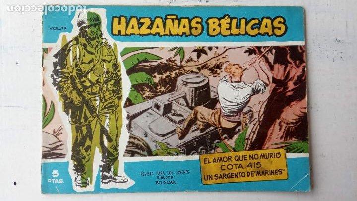 Tebeos: HAZAÑAS BÉLICAS AZUL - 135 TEBEOS EN BUEN-MUY BUEN ESTADO, VER TODAS LAS PORTADAS - Foto 56 - 198812892