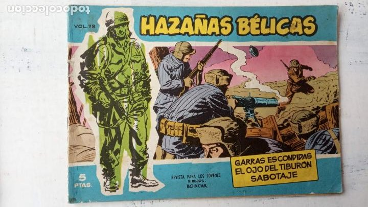 Tebeos: HAZAÑAS BÉLICAS AZUL - 135 TEBEOS EN BUEN-MUY BUEN ESTADO, VER TODAS LAS PORTADAS - Foto 57 - 198812892