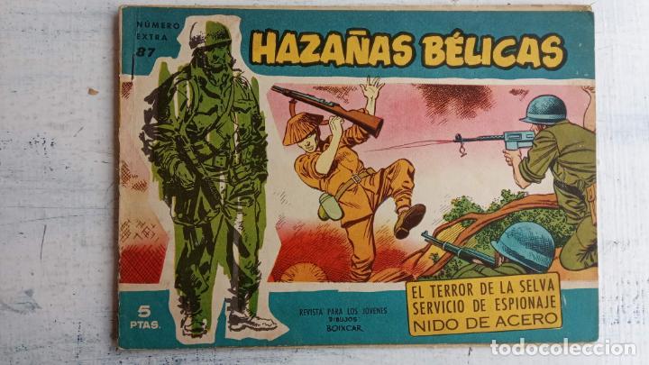 Tebeos: HAZAÑAS BÉLICAS AZUL - 135 TEBEOS EN BUEN-MUY BUEN ESTADO, VER TODAS LAS PORTADAS - Foto 60 - 198812892