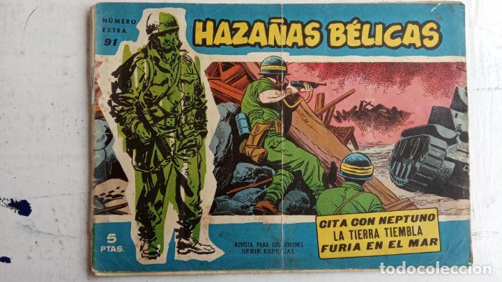 Tebeos: HAZAÑAS BÉLICAS AZUL - 135 TEBEOS EN BUEN-MUY BUEN ESTADO, VER TODAS LAS PORTADAS - Foto 62 - 198812892