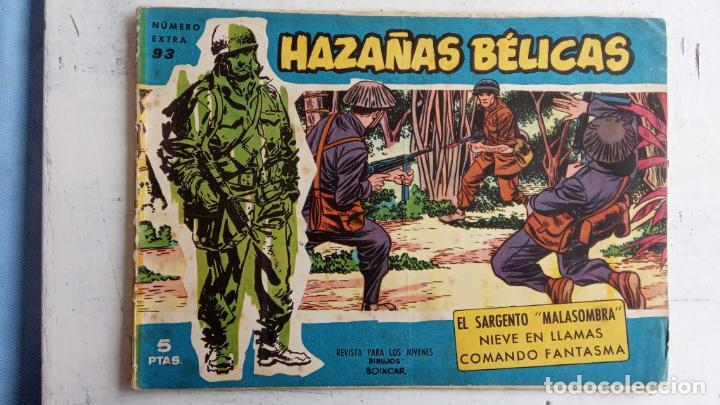 Tebeos: HAZAÑAS BÉLICAS AZUL - 135 TEBEOS EN BUEN-MUY BUEN ESTADO, VER TODAS LAS PORTADAS - Foto 63 - 198812892