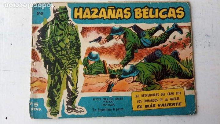Tebeos: HAZAÑAS BÉLICAS AZUL - 135 TEBEOS EN BUEN-MUY BUEN ESTADO, VER TODAS LAS PORTADAS - Foto 64 - 198812892