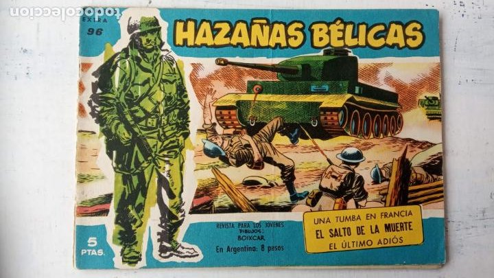 Tebeos: HAZAÑAS BÉLICAS AZUL - 135 TEBEOS EN BUEN-MUY BUEN ESTADO, VER TODAS LAS PORTADAS - Foto 65 - 198812892