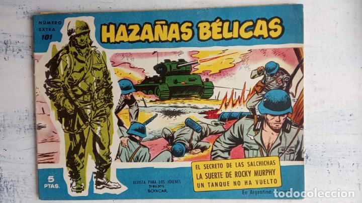 Tebeos: HAZAÑAS BÉLICAS AZUL - 135 TEBEOS EN BUEN-MUY BUEN ESTADO, VER TODAS LAS PORTADAS - Foto 66 - 198812892