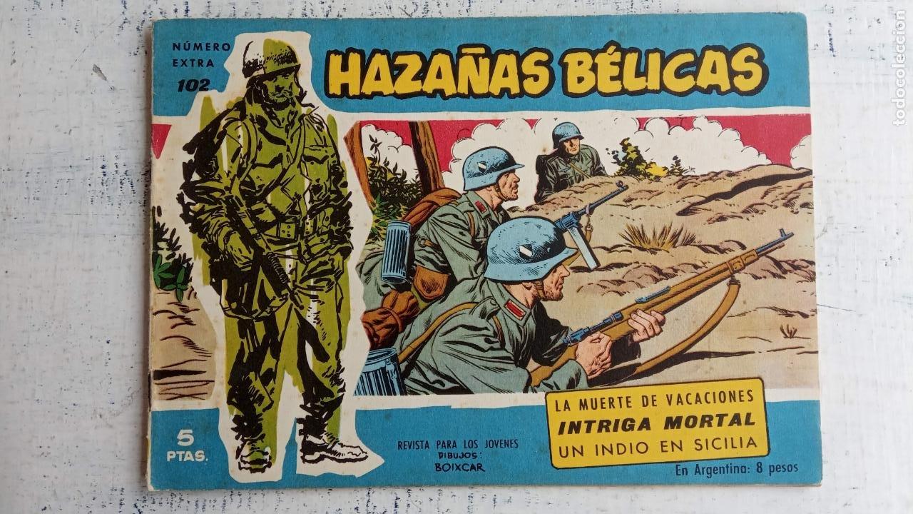 Tebeos: HAZAÑAS BÉLICAS AZUL - 135 TEBEOS EN BUEN-MUY BUEN ESTADO, VER TODAS LAS PORTADAS - Foto 67 - 198812892