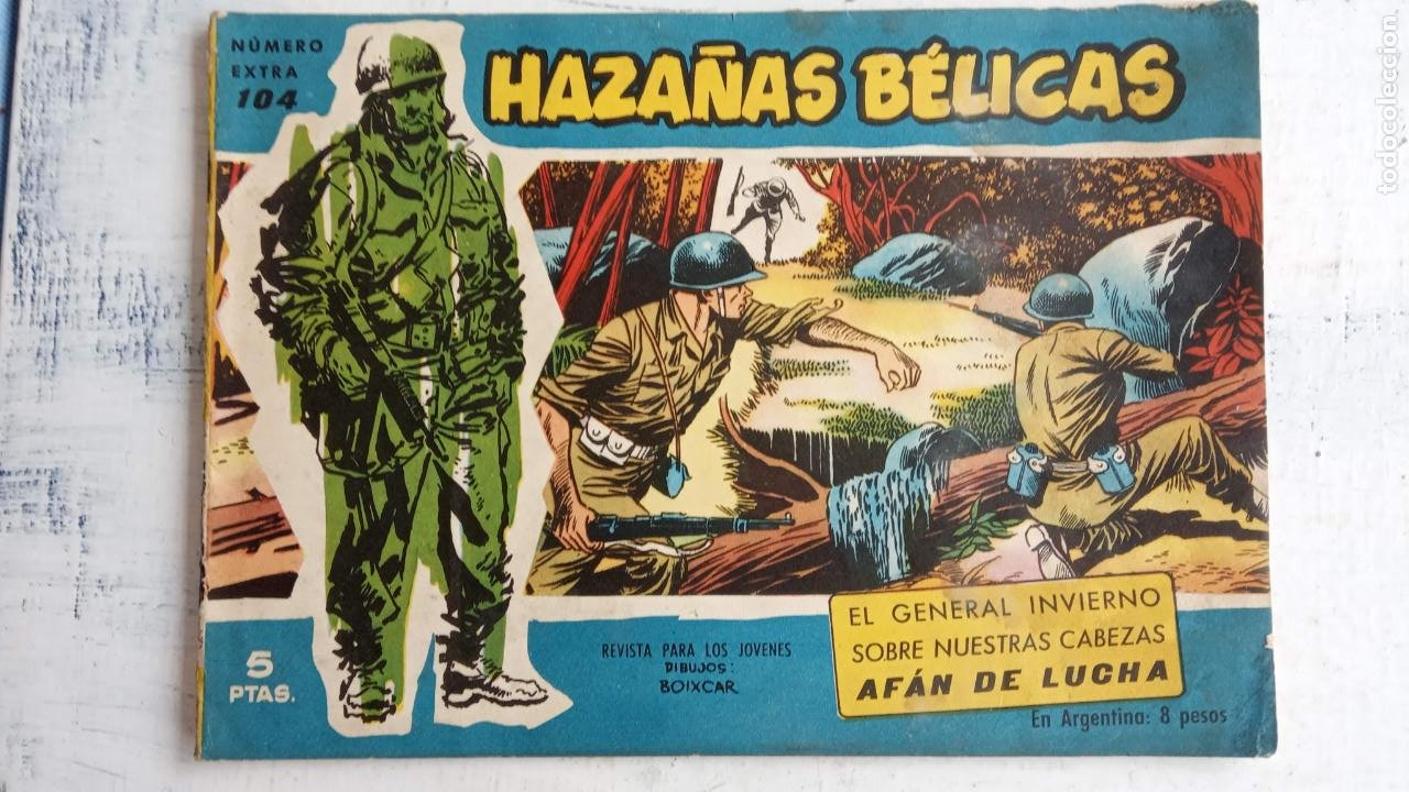 Tebeos: HAZAÑAS BÉLICAS AZUL - 135 TEBEOS EN BUEN-MUY BUEN ESTADO, VER TODAS LAS PORTADAS - Foto 68 - 198812892